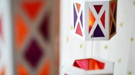 Paper Lanterns Desktop Wallpaper