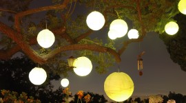 Paper Lanterns Wallpaper Full HD