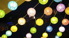 Paper Lanterns Wallpaper#1