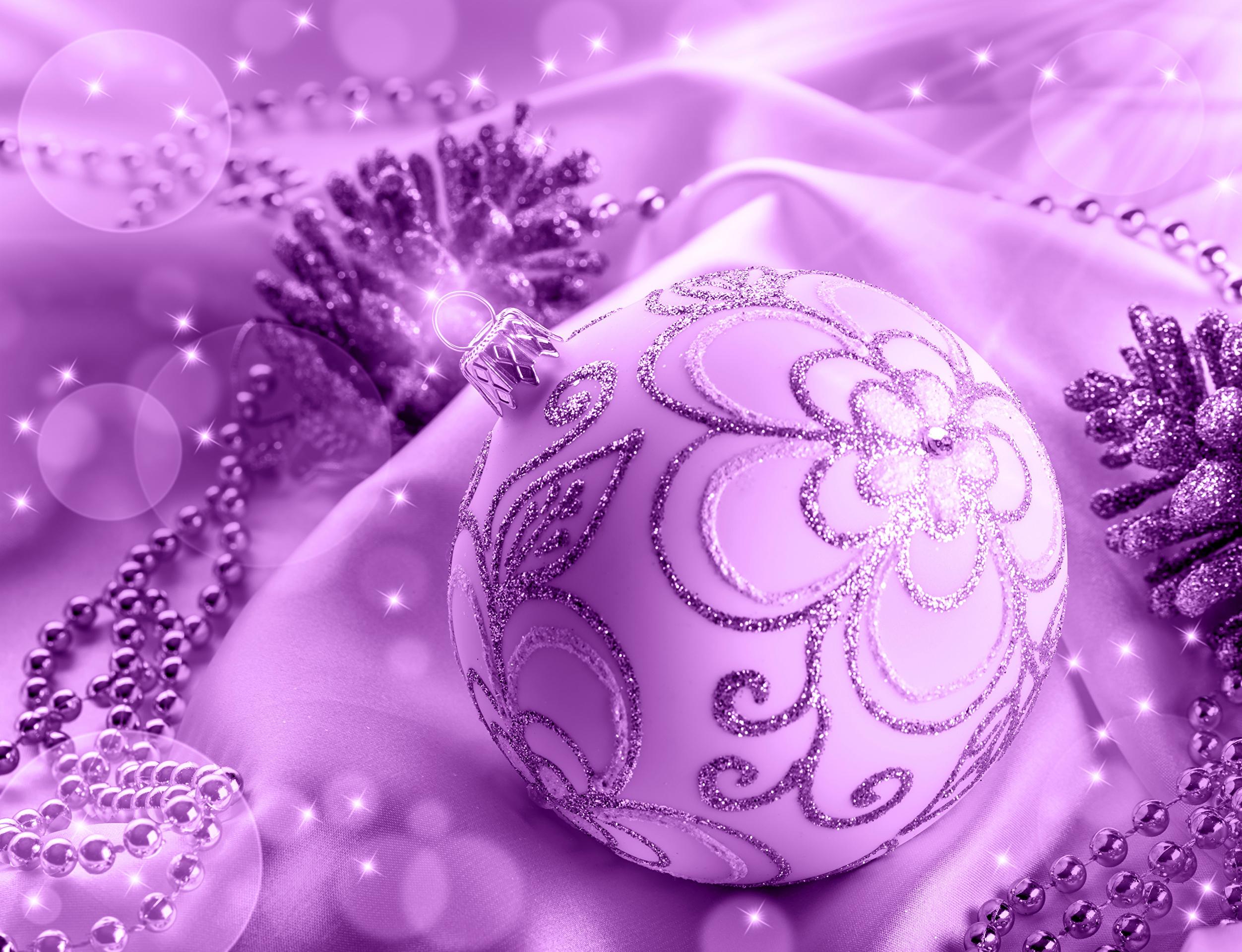 Purple christmas balls wallpapers high quality download free - Purple christmas desktop wallpaper ...