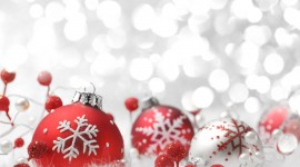 Red Christmas Balls Photo#1