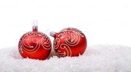 Red Christmas Balls Photo#2