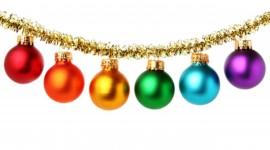 Red Christmas Balls Wallpaper Full HD#1