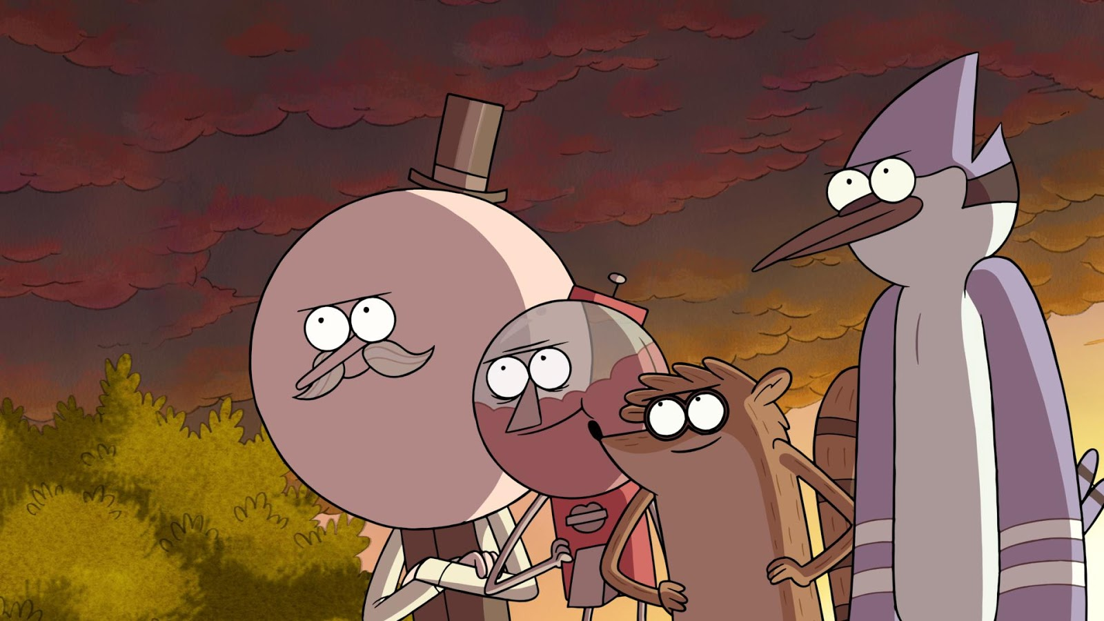 Regular Show The Movie Wallpapers High Quality | Download Free