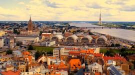 Riga Wallpaper Background