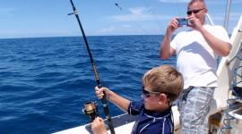 Sea Fishing Desktop Wallpaper HD