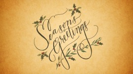 Seasons Greetings Wallpaper 1080p
