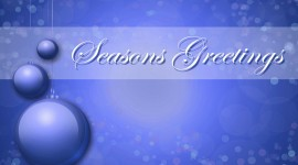 Seasons Greetings Wallpaper