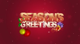 Seasons Greetings Wallpaper Free