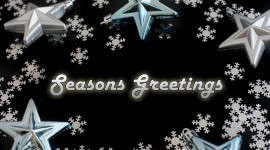 Seasons Greetings Wallpaper HQ