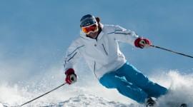 Skiing Desktop Wallpaper HD