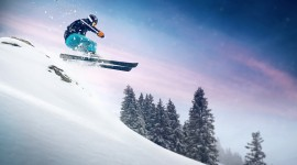 Skiing Wallpaper For PC