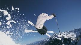 Skiing Wallpaper Full HD