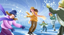 Snowball Fight Image