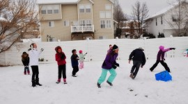Snowball Fight Photo Free