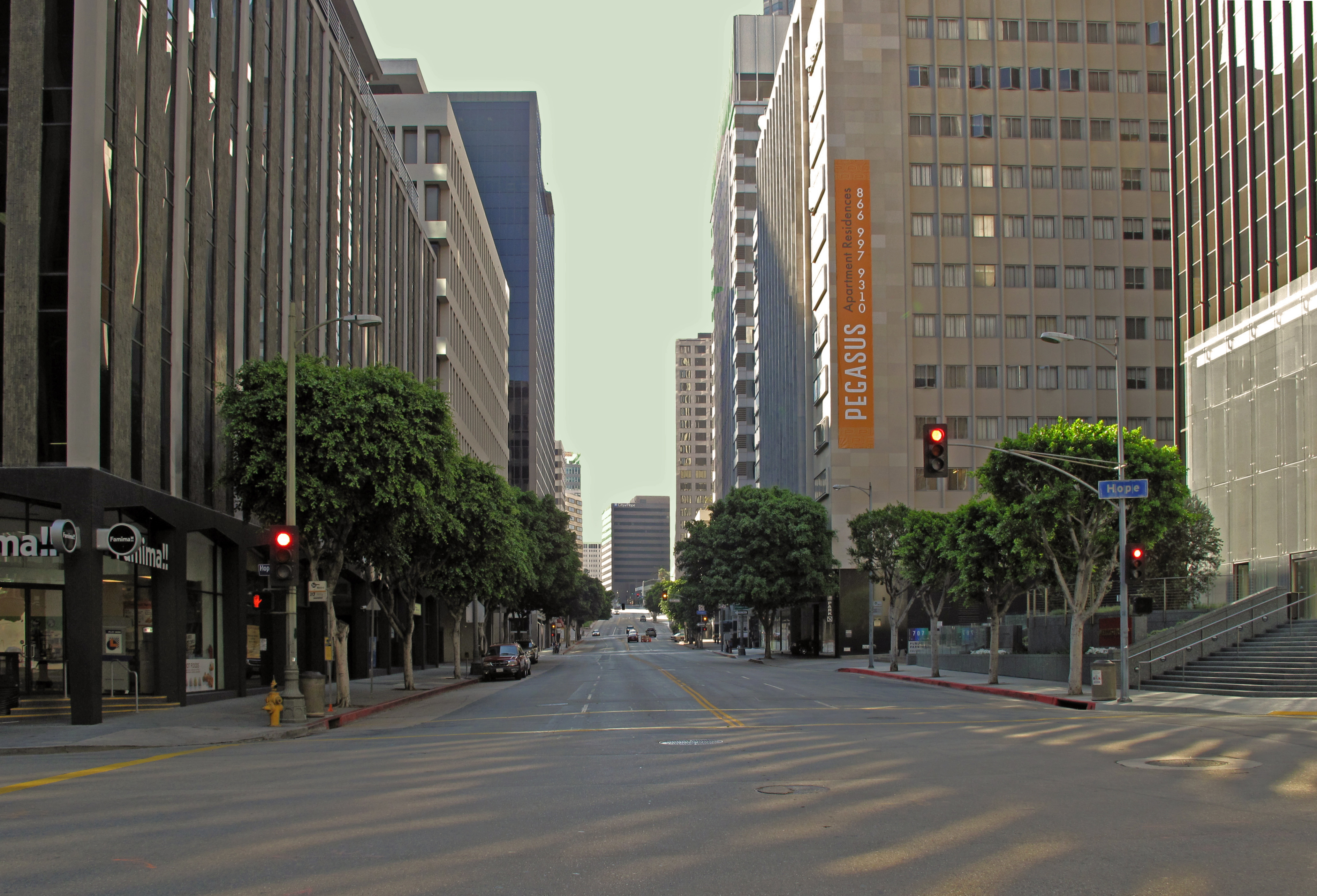 Streets Of Los Angeles Wallpapers High Quality Download Free