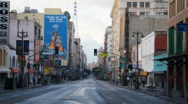 Streets Of Los Angeles Wallpaper Free
