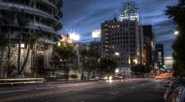 Streets Of Los Angeles Wallpaper High Definition