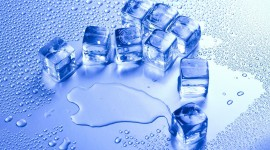 The Ice In The Water Wallpaper Free
