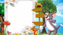 Tom And Jerry Frame Photo