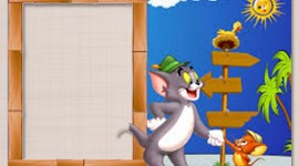 Tom And Jerry Frame Wallpaper For IPhone#1