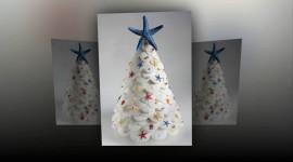Unusual Christmas Trees Wallpaper