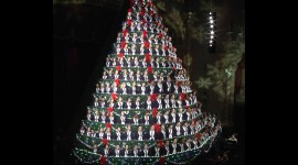 Unusual Christmas Trees Wallpaper For PC