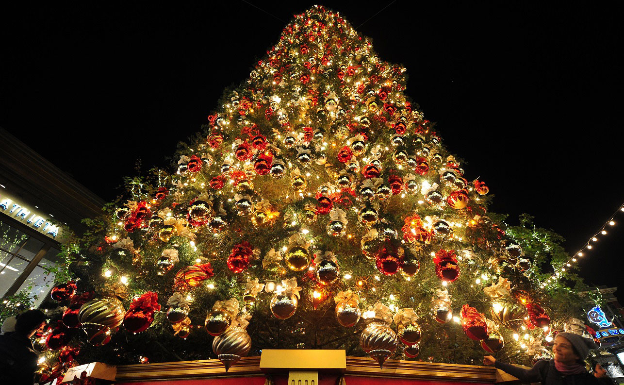 unusual christmas trees wallpapers high quality download free