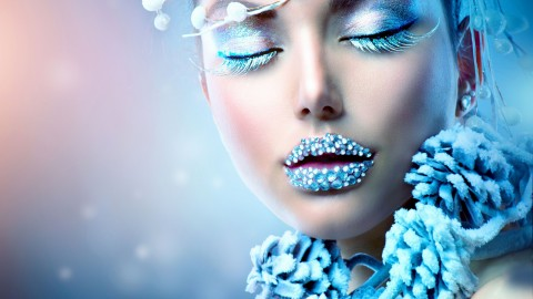 Winter Makeup wallpapers high quality