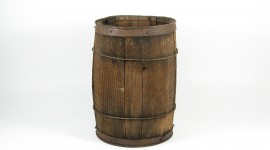 Wooden Barrel Wallpaper Download Free