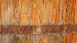 Wooden Barrel Wallpaper For IPhone