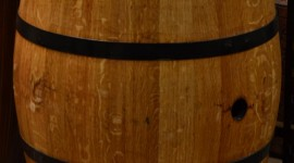 Wooden Barrel Wallpaper For IPhone Free