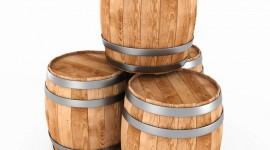 Wooden Barrel Wallpaper For The Smartphone