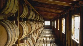 Wooden Barrel Wallpaper Full HD
