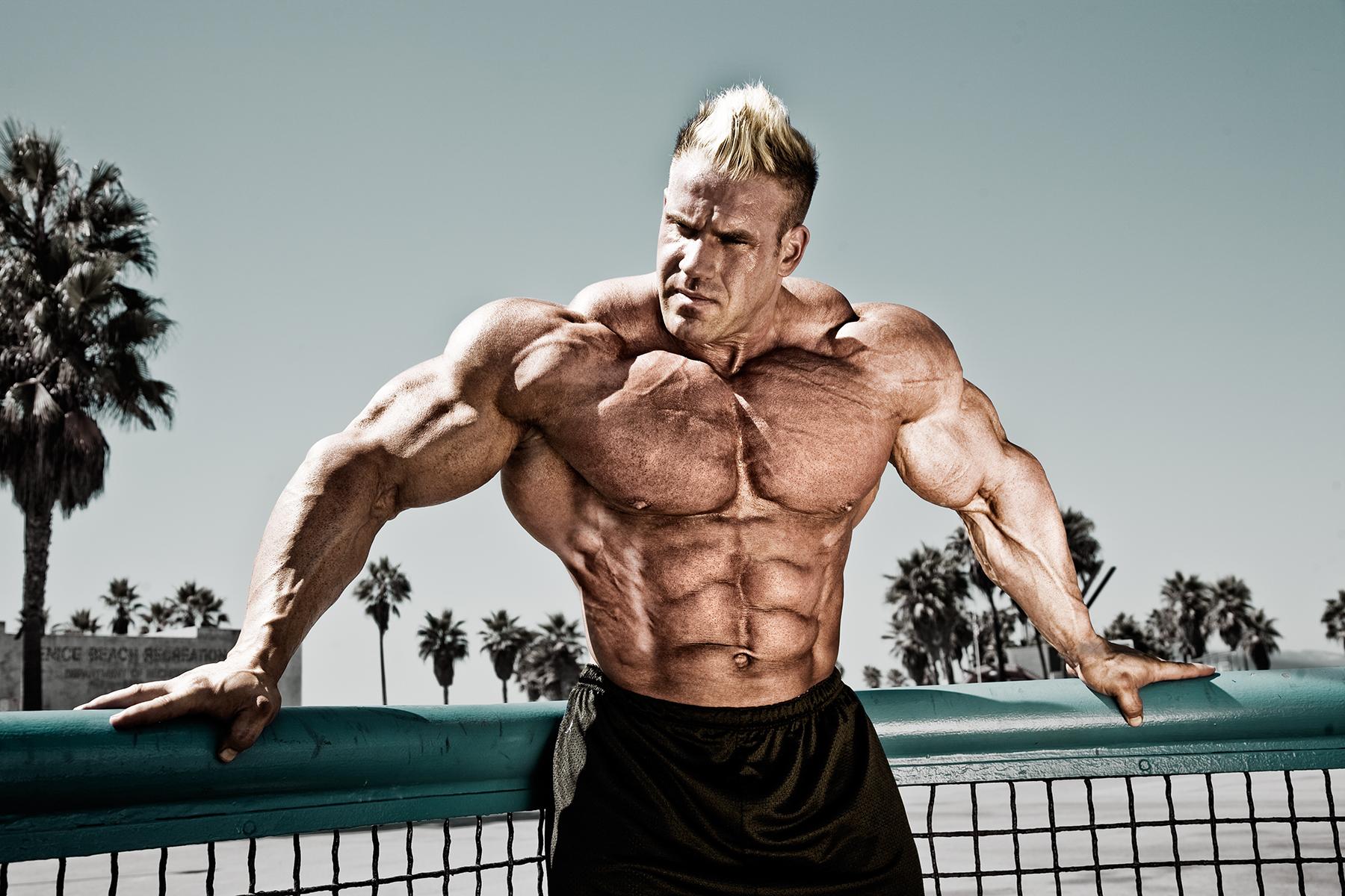 4K Bodybuilder Wallpaper