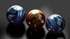 4K Glass Ball Desktop Wallpaper For PC