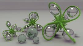 4K Glass Ball Photo Free#2