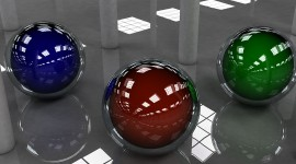 4K Glass Ball Photo#1