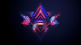 4K Triangle Wallpaper