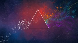 4K Triangle Wallpaper Download Free