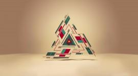 4K Triangle Wallpaper For Desktop