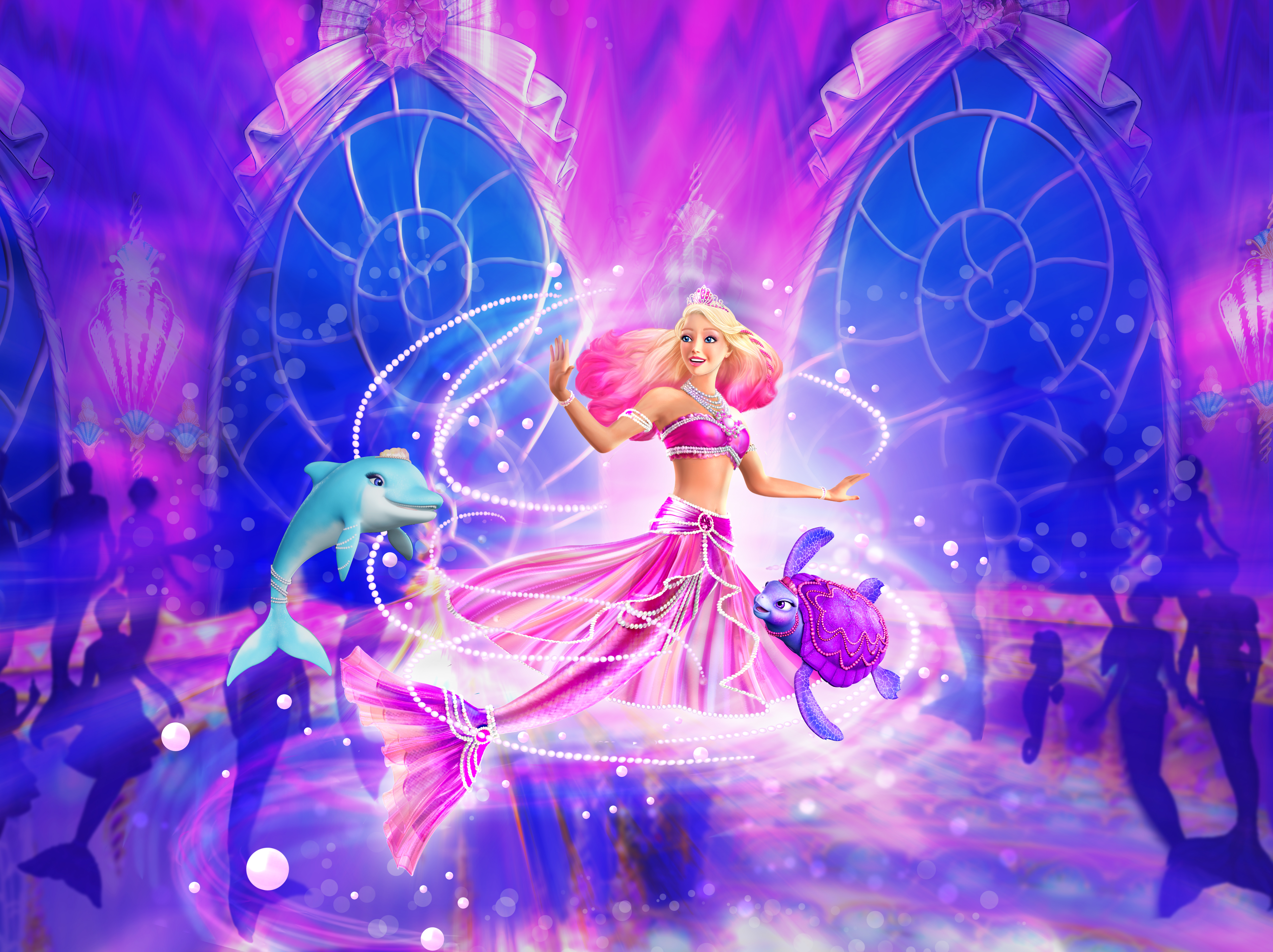 Barbie The Pearl Princess Wallpapers High Quality Download Free