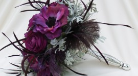 Bouquet Feather Photo