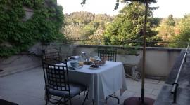 Breakfast On The Terrace Wallpaper Gallery