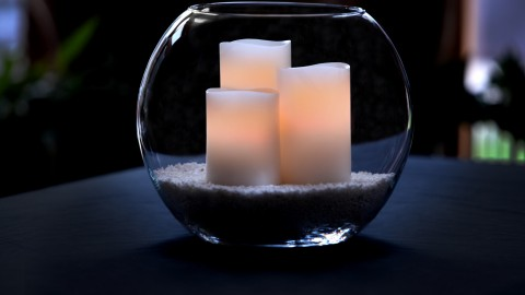 Candles In A Glass wallpapers high quality