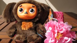 Cheburashka Wallpaper Background