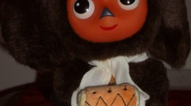 Cheburashka Wallpaper For IPhone