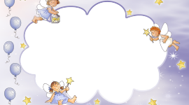 Cloud Frame Desktop Wallpaper HD