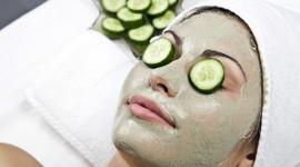 Cucumber Mask Desktop Wallpaper For PC