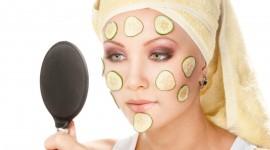 Cucumber Mask Wallpaper